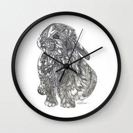 Sweet Bunny Wall Clock