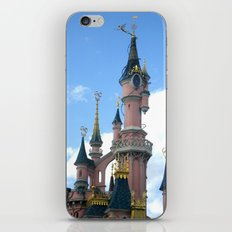 Disneyland Castle Paris iPhone & iPod Skin