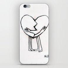 2 of hearts iPhone & iPod Skin