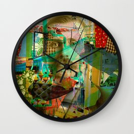 Hardened Hero Wall Clock