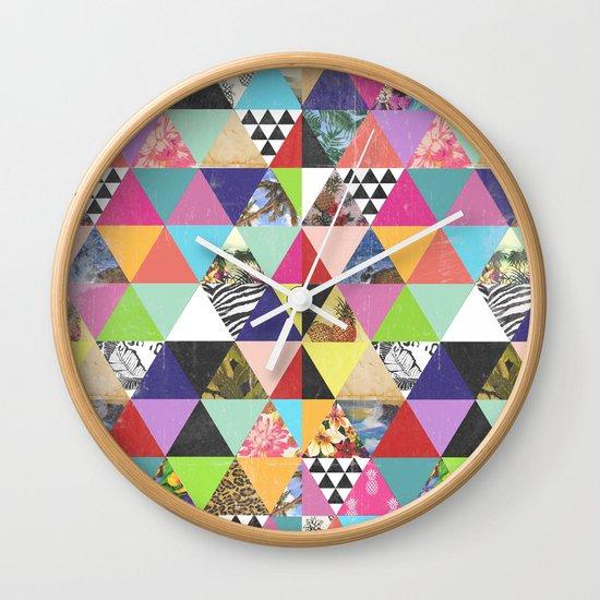 A bit of tropical geometry Wall Clock