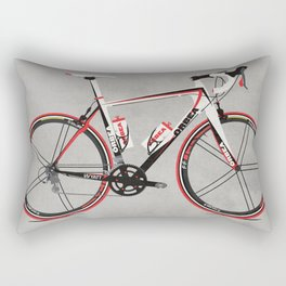 Race Bike Rectangular Pillow