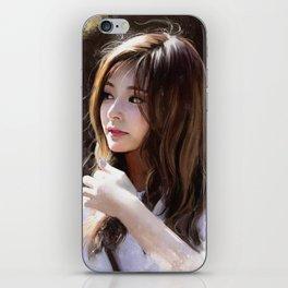 Portrait of Tzuyu iPhone Skin