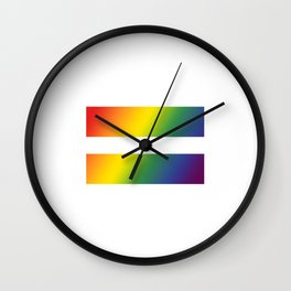 Pride\\Equality Wall Clock