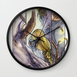Water Elemental Wall Clock