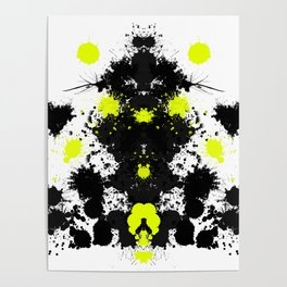 Rorschach 10 Poster