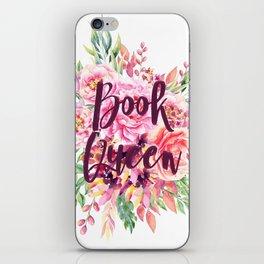 Book Queen iPhone Skin