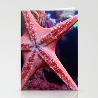 starfish Stationery Cards featuring Starfish  by Jillian Stanton