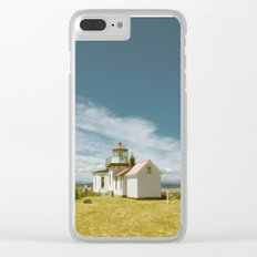 Hopperesque Clear iPhone Case