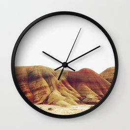 Oregon Painted Hills Wall Clock