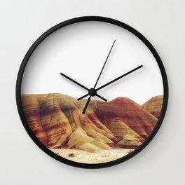 Oregon Painted Hills Wall Clock