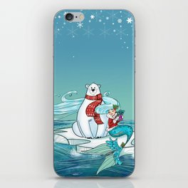 Icy Pals iPhone Skin