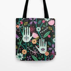 Botanical Hands Tote Bag