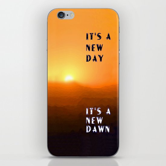 It's a New Day iPhone & iPod Skin