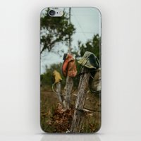 western iPhone & iPod Skins featuring Western Boots by OctaviusEst