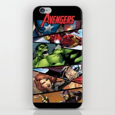 THE.AVENGERS  iPhone & iPod Skin