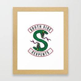 South Side Framed Art Print