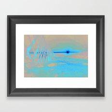 Sunrise Sets Framed Art Print
