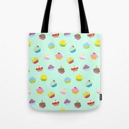Cupcakes - mint Tote Bag