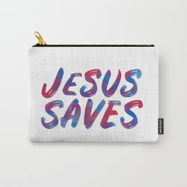 Jesus Saves Carry-All Pouch