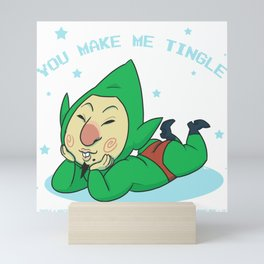 You Make Me Tingle Mini Art Print