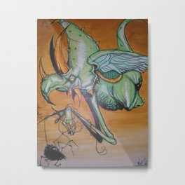 I can fly too Metal Print