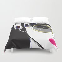 depeche mode Duvet Covers featuring Mode by shutupjade