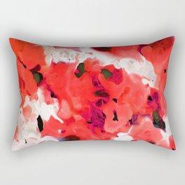 Heating Up For Summer Rectangular Pillow