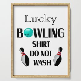 Lucky Bowling Gift For Mom Mothers Day Serving Tray