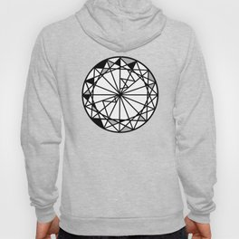 Diamond - round cut geometric design Hoody