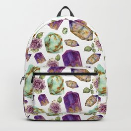 Magic gems and roses Backpack