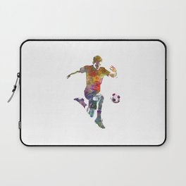 man soccer football player 09 Laptop Sleeve