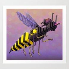 Attack Waspian Art Print