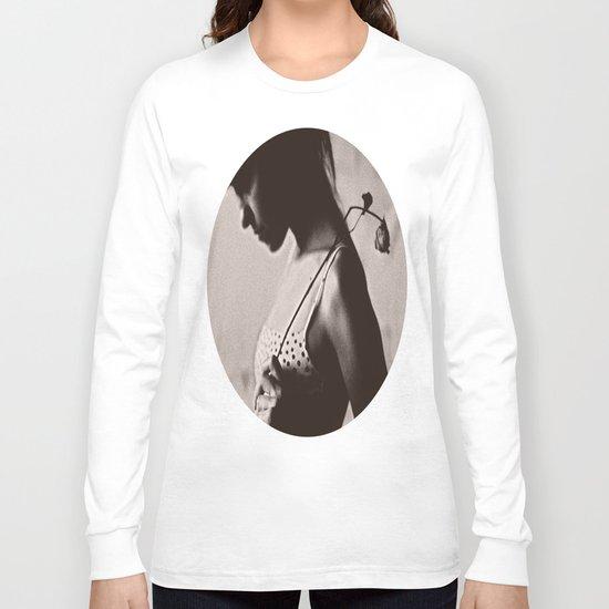 the girl Long Sleeve T-shirt