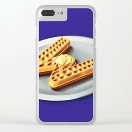 36 - W Clear iPhone Case