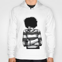 phil jones Hoodies featuring Phil Lynott by Denis O'Sullivan