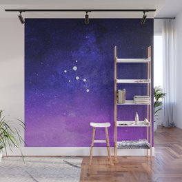 Cassiopeia Constellation with the Milky Way Wall Mural