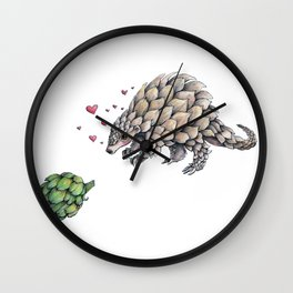 You Are So Beautiful to Me Wall Clock