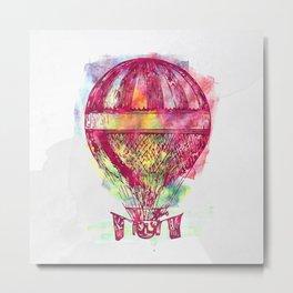 AP102 Hot air baloon Metal Print