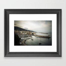 Bastia Framed Art Print