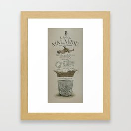 La Gran Noche/The great night of Pablo Malaurie Framed Art Print