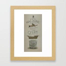 La Gran Noche/The great night of Pablo Malaurie Framed Art Print