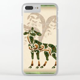 Deer One Clear iPhone Case