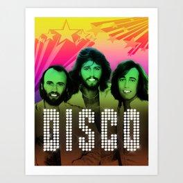 D.I.S.C.O! Art Print