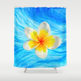 Float Freely Shower Curtain