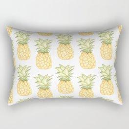 Summer Pineapple Rectangular Pillow