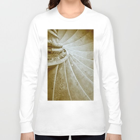 Sand stone spiral staircase 17 Long Sleeve T-shirt
