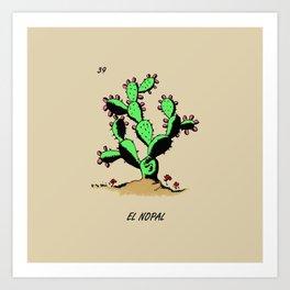 El Nopalito Art Print