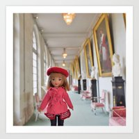 Gigi goes to France Art Print