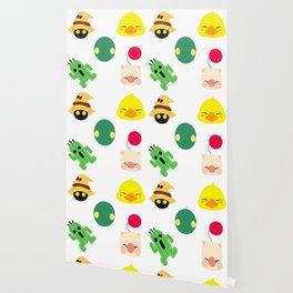 ff pattern mogu choco cactus Wallpaper